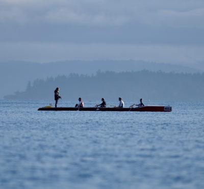 Essayez l'aviron de mer pour la journée mondiale de l'océan