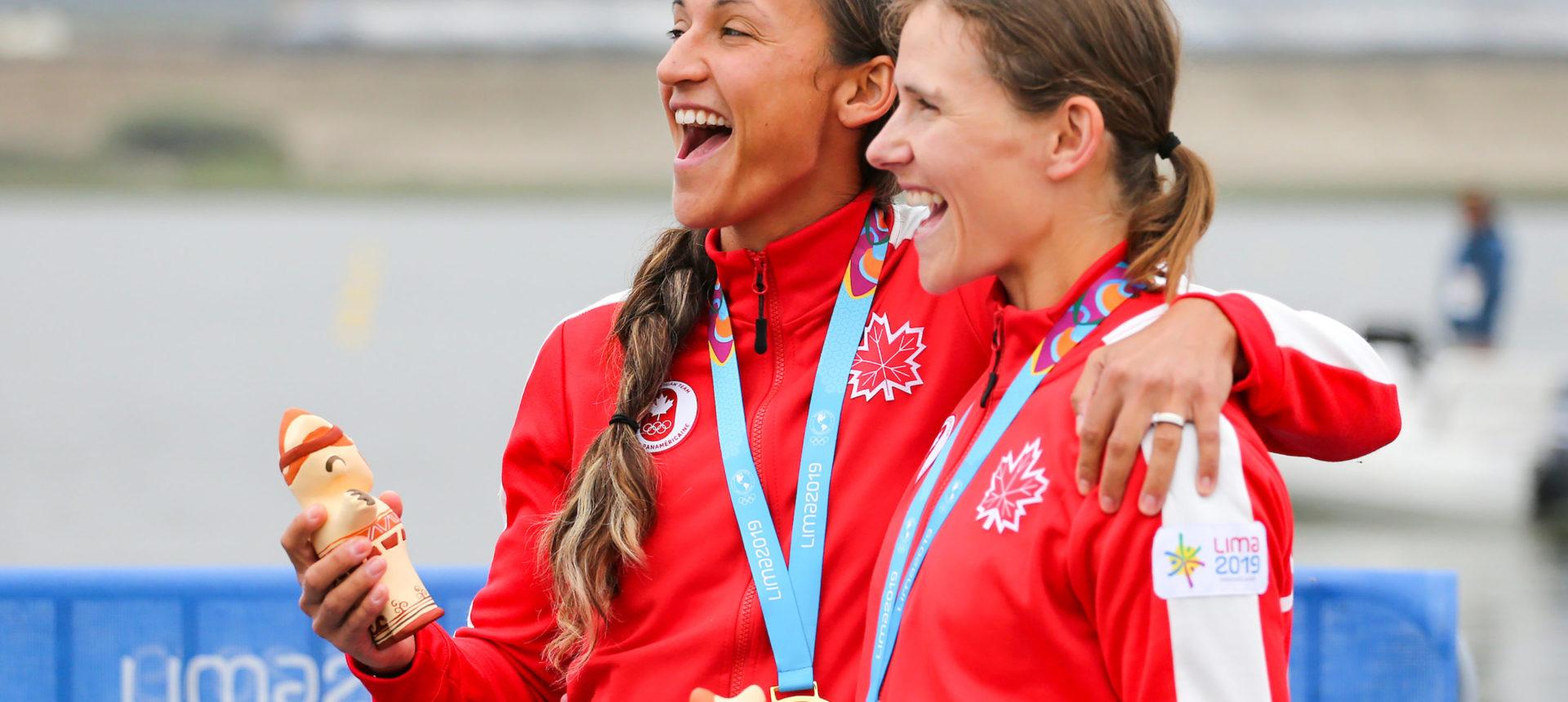 Deux médailles d'or pour le Canada aux Jeux panaméricains