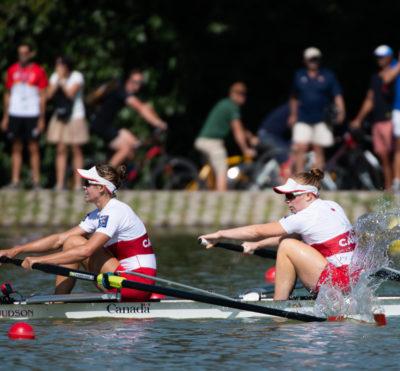 Équipe Canada en mission aux Championnats du monde d'aviron