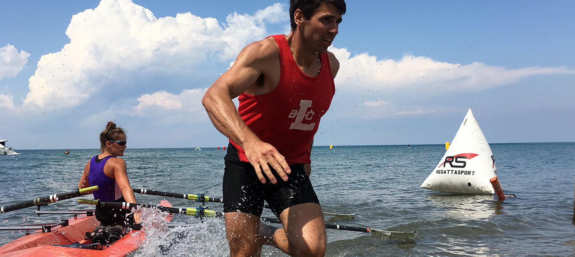 Sept rameurs canadiens aux Finales de sprint sur plage de World Rowing