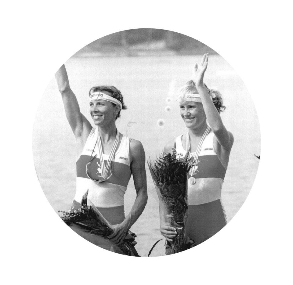 Colleen Miller et Wendy Wiebe (LW2x)