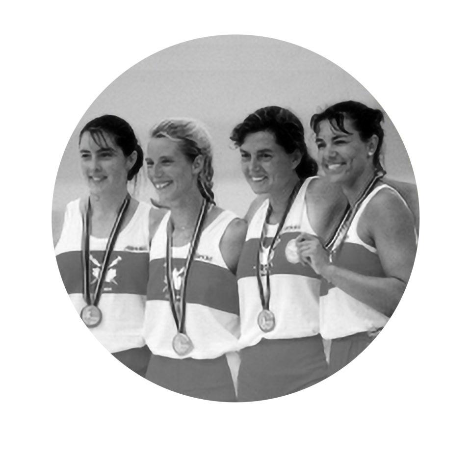 Quatre de pointe féminin sans barreur de 1992