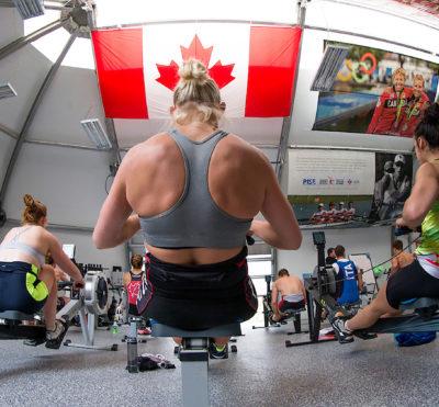 Saison 2020 d'aviron en salle au Canada