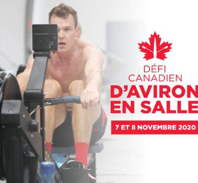 L'édition inaugurale du Défi canadien d'aviron en salle démarre samedi