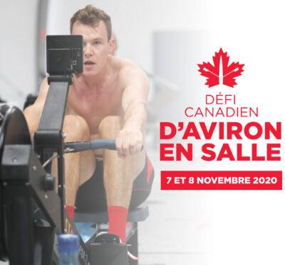 Nouvelles dates fixées pour le Défi canadien d'aviron en salle