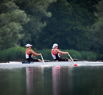 Deux embarcations canadiennes disputeront les finales de qualifications paralympiques