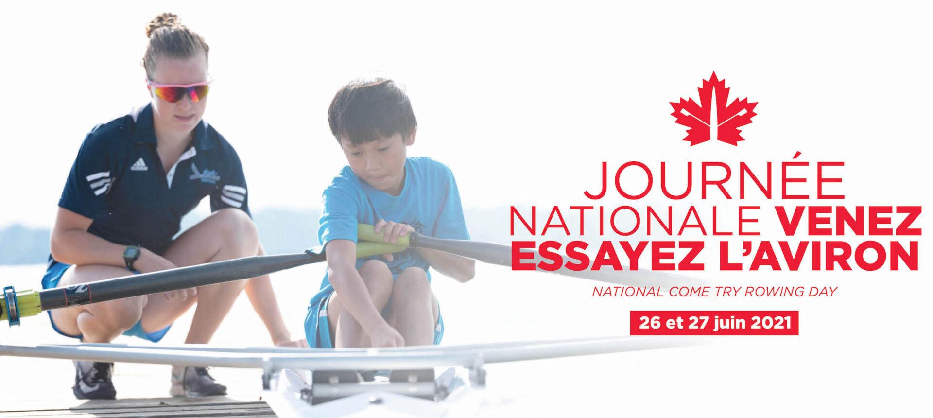 Journée nationale Venez essayez l'aviron