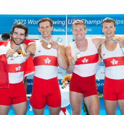 Le Canada remporte l'or aux Championnats du monde U23