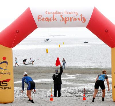 Trois Canadiens qualifiés pour les Finales de sprint sur plage de World Rowing